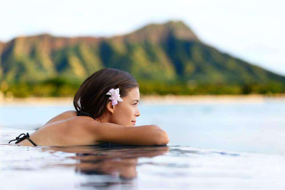 tropical vacation to koloa landing resort on the island of kauai to relieve stress