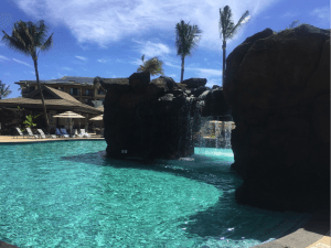 koloa pool with swim through grotto