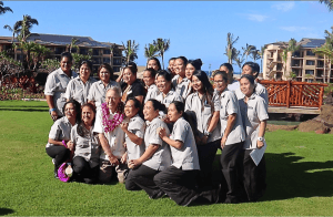 koloa resort owner bill child with housekeeping staff