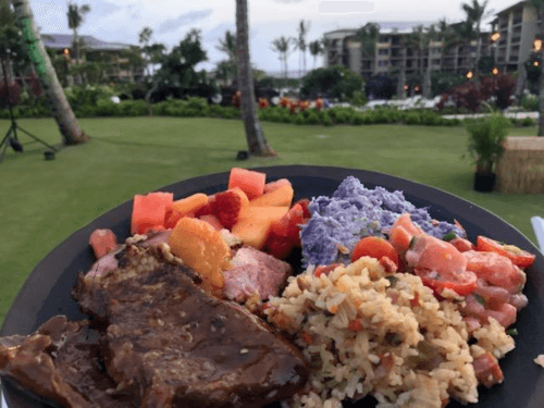 luau food in kauai
